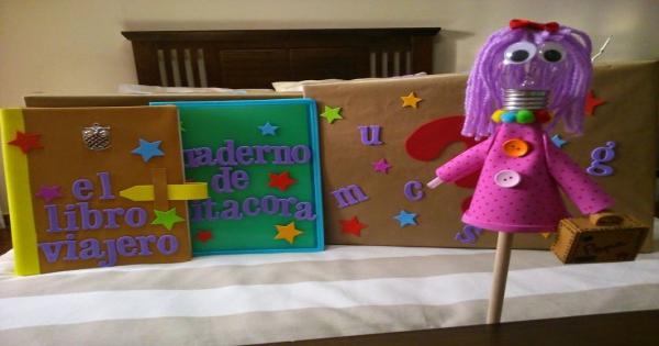 Libreta Viajera Infantil Para Imprimir: Proyecto Libro Viajero