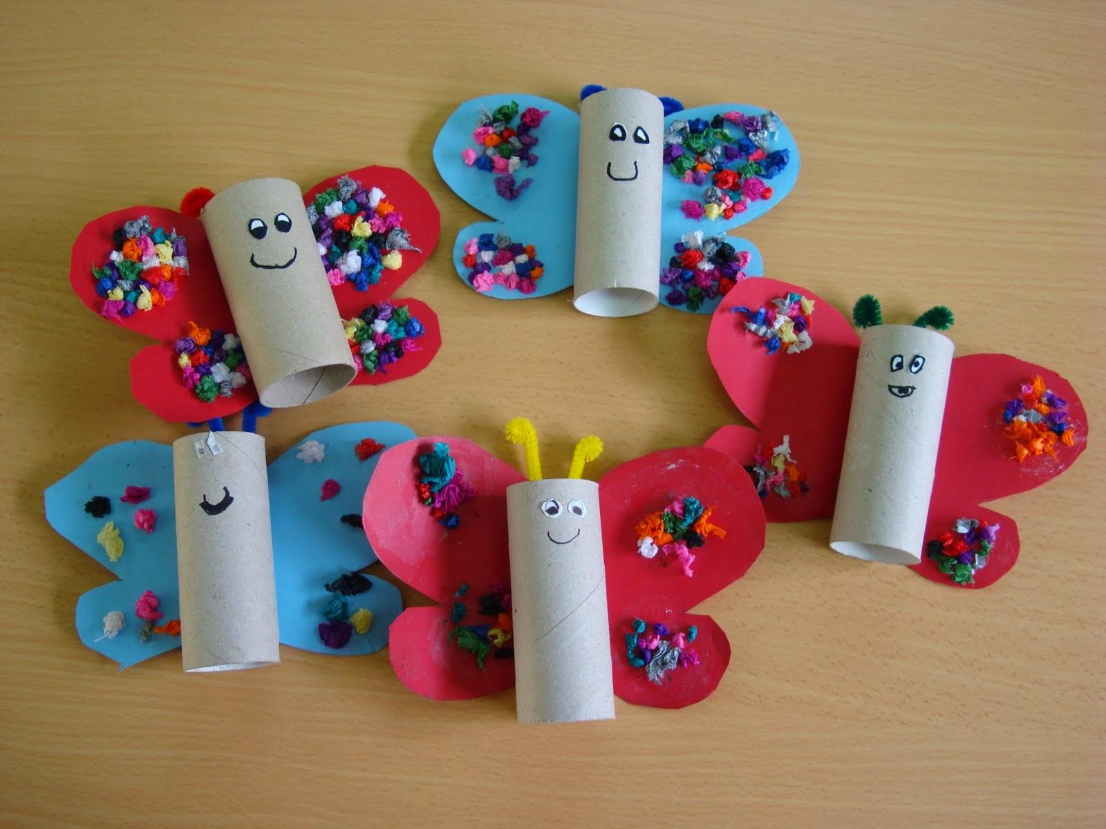 Manualidades con rollos de papel higi nico 12 imagenes - Rollos de papel higienico decorados ...