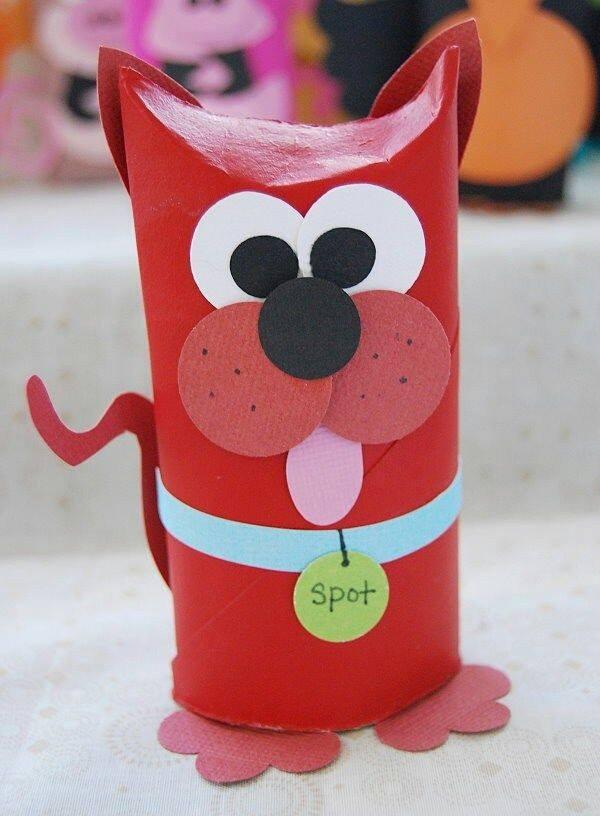 Baño Infantil Corona:manualidades con rollos de papel higiénico (1) – Imagenes Educativas