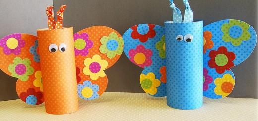 Sumak Kawsay Diy Animales Con Vasos Y Tarrinas De Papel Reciclamos