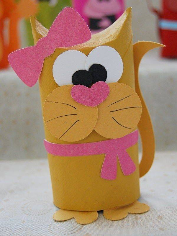 Animal Toilet Paper Tube Crafts