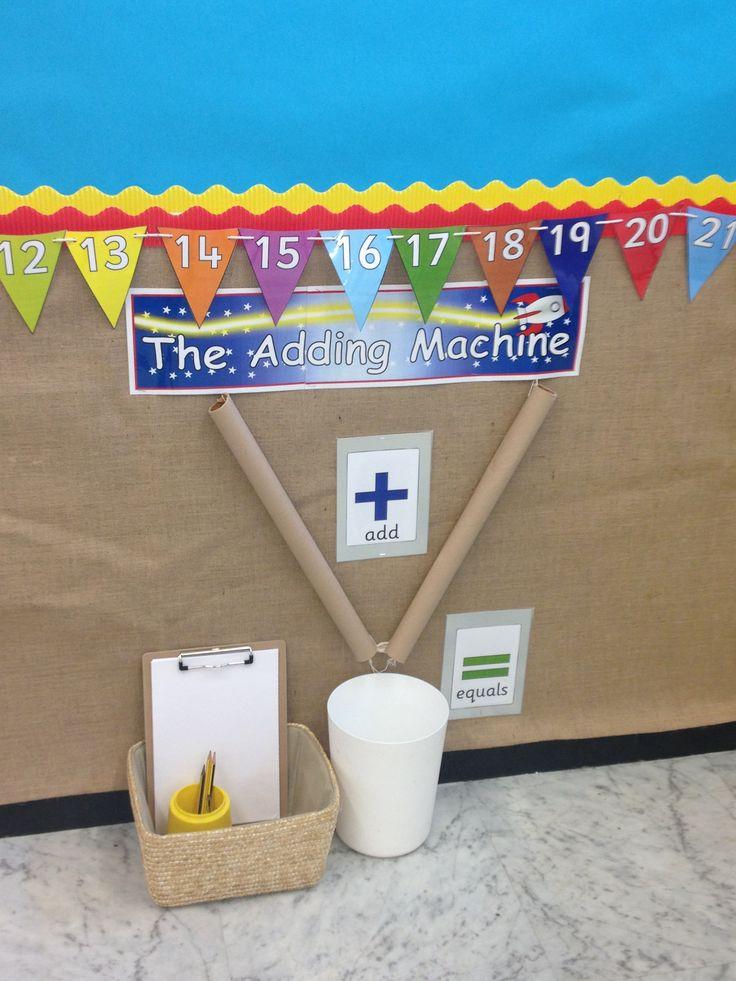 Classroom Ideas Reception ~ Maquina de sumar imagenes educativas