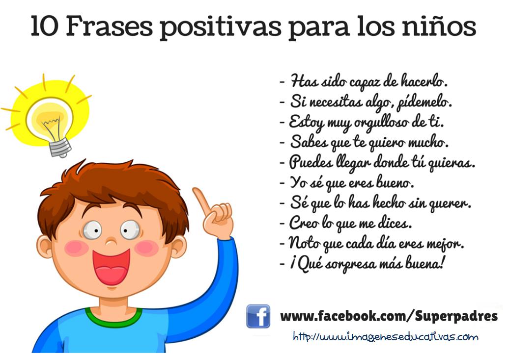 Frases Positivas Para Ninos