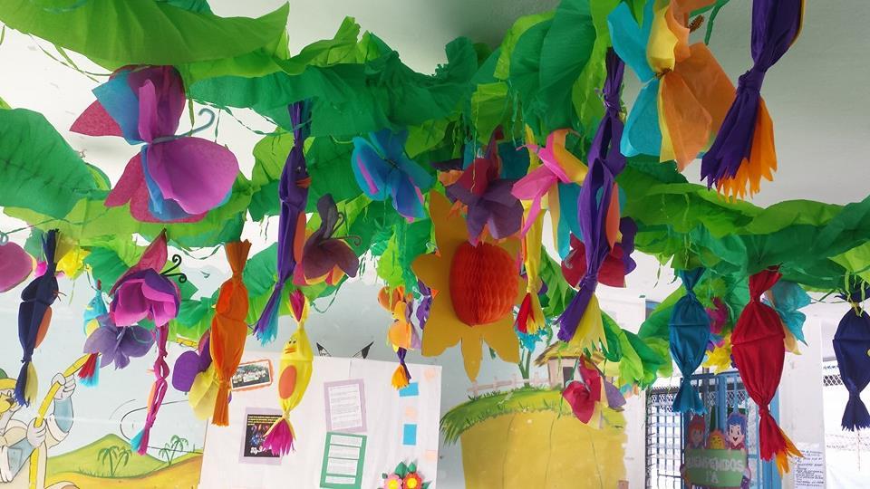 decoracion de clase detalles primavera 14 imagenes