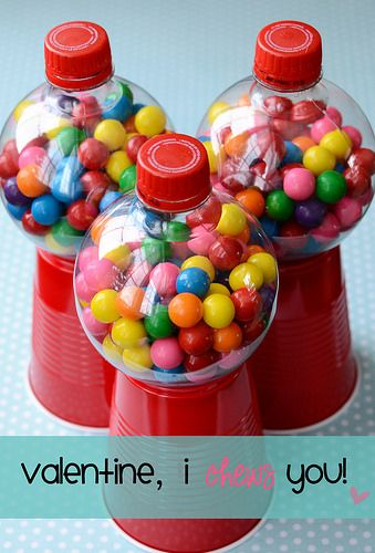Bottle DIY Gumball Machine Idea