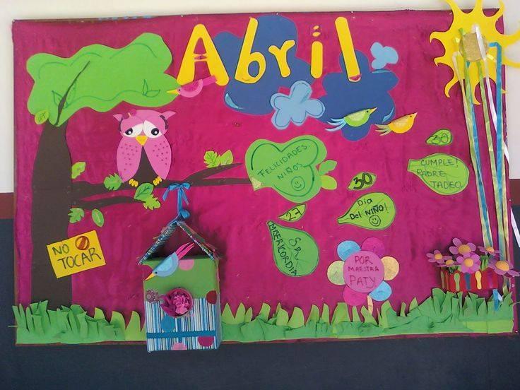 Ideas para el peri dico mural del mes de abril 6 for El periodico mural