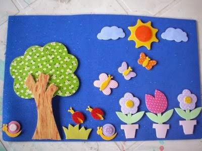 Murales primavera 2 imagenes educativas for Reciclado de placares