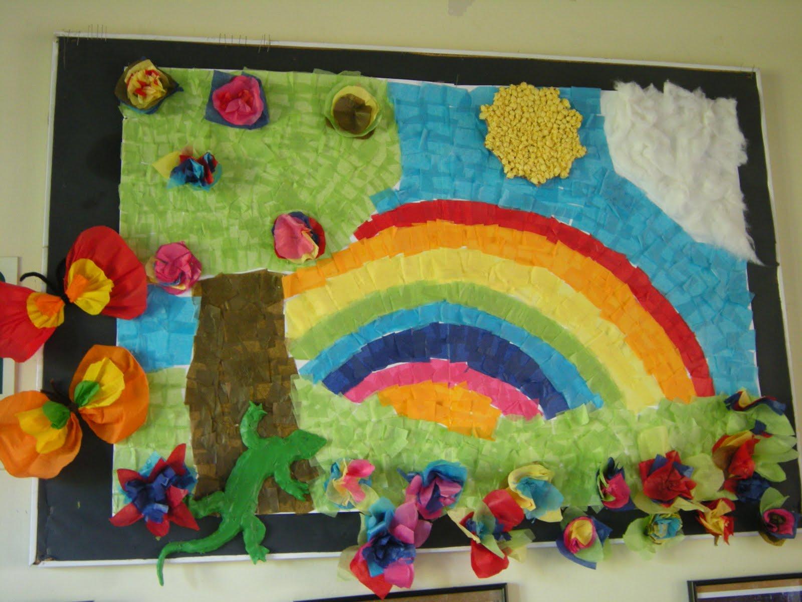 Murales primavera 7 imagenes educativas for Mural una familia chicana