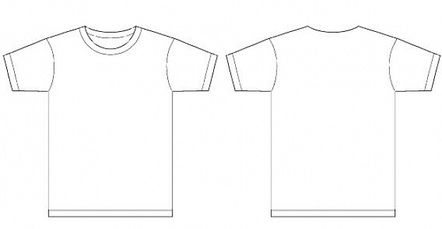 вектор футболки для печати