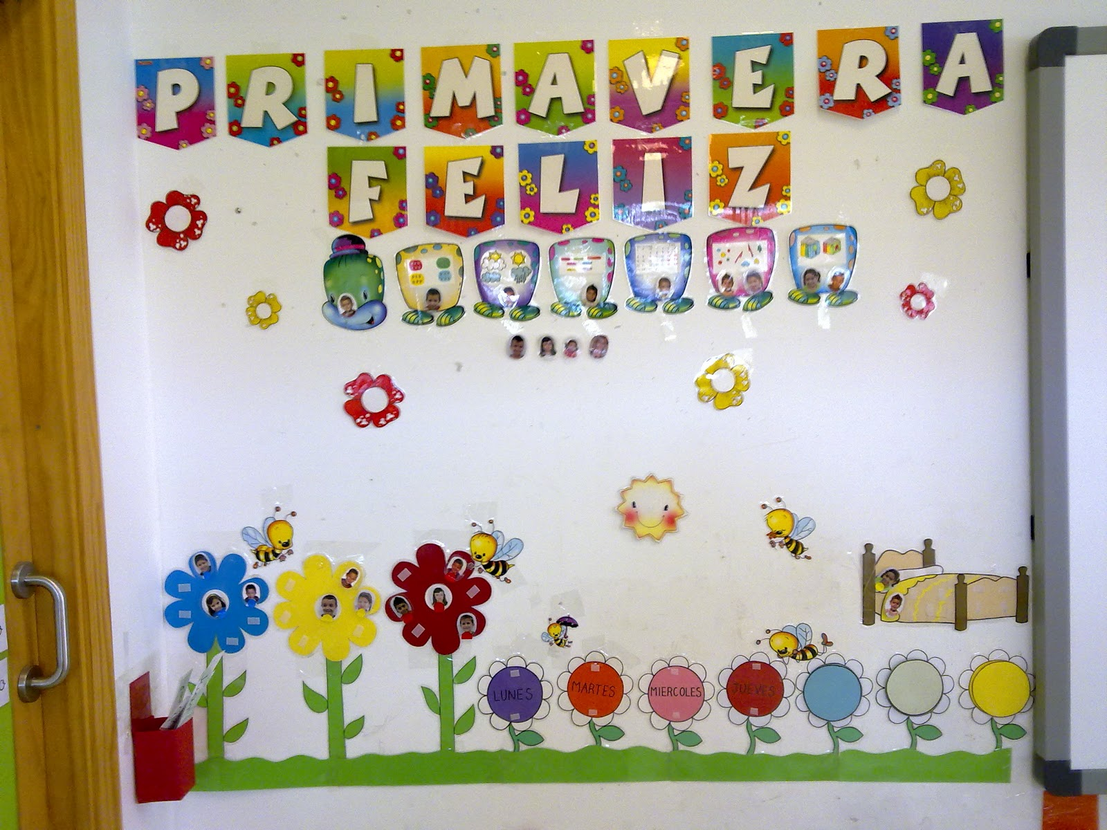 Primavera murales 10 imagenes educativas - Murales con fotos ...