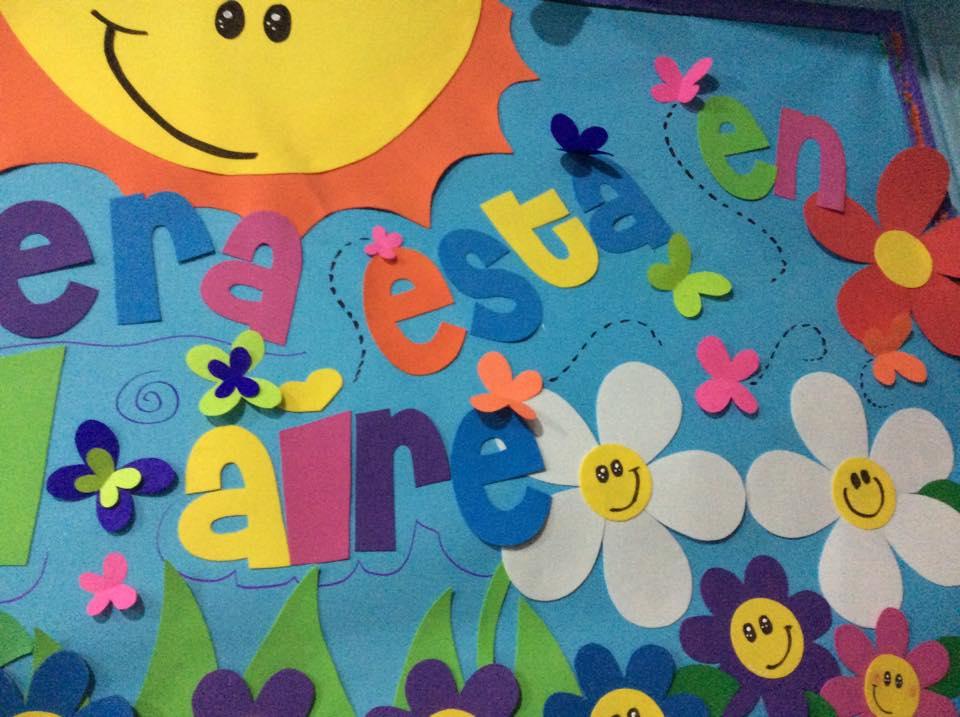 Primavera murales 4 imagenes educativas for Mural de fotos en cartulina