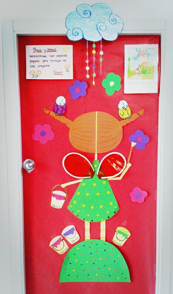 Primavera puertas 18 imagenes educativas for Puertas escolares decoradas