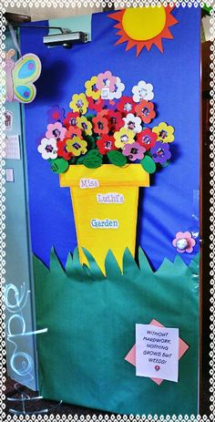 Primavera puertas 20 imagenes educativas for Puertas decoradas primavera