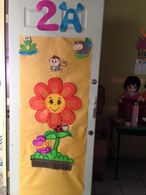 Ideas para decorar el aula en primavera vuestras for Ideas para decorar puertas de salon