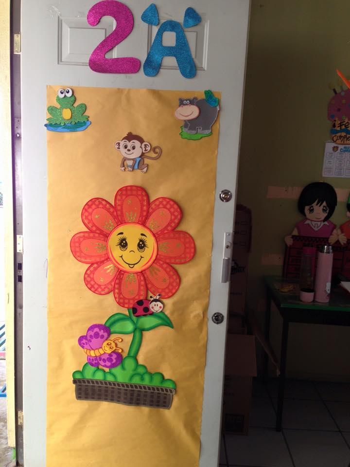 Puertas primavera 1 imagenes educativas for Puertas decoradas para guarderia