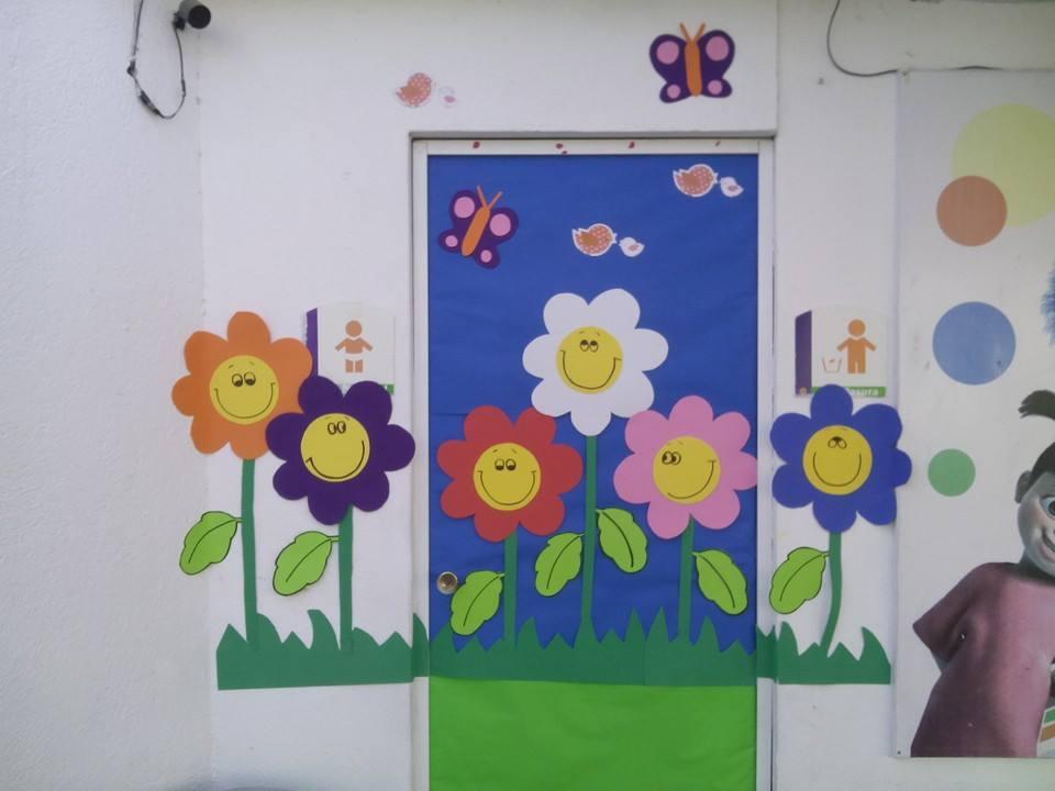 Puertas primavera 10 imagenes educativas for Puertas decoradas primavera