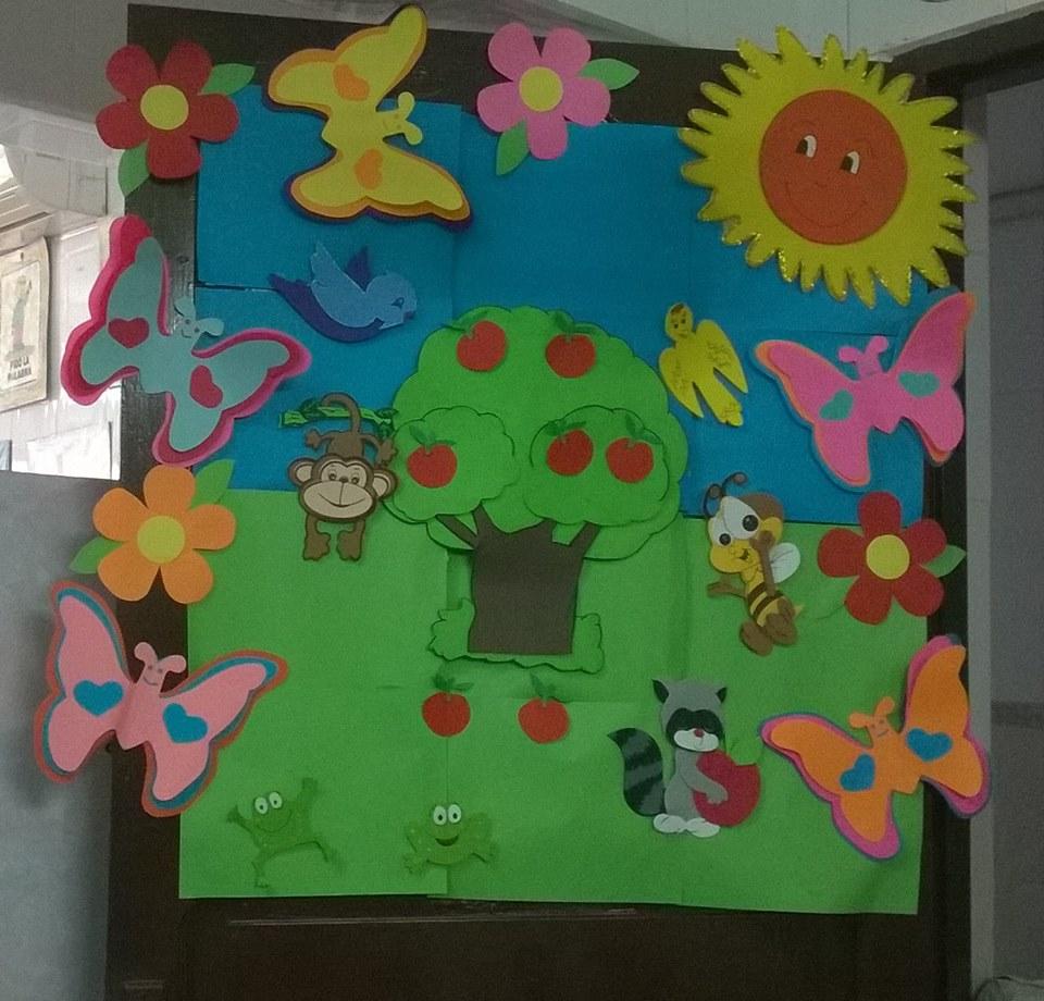 Puertas primavera 2 imagenes educativas for Puertas decoradas primavera