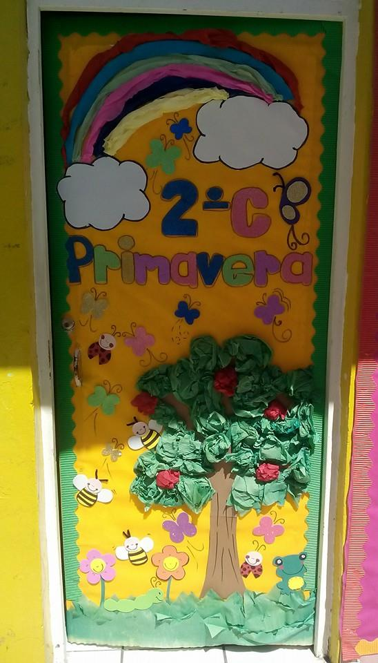 Puertas primavera 3 imagenes educativas for Puertas decoradas primavera