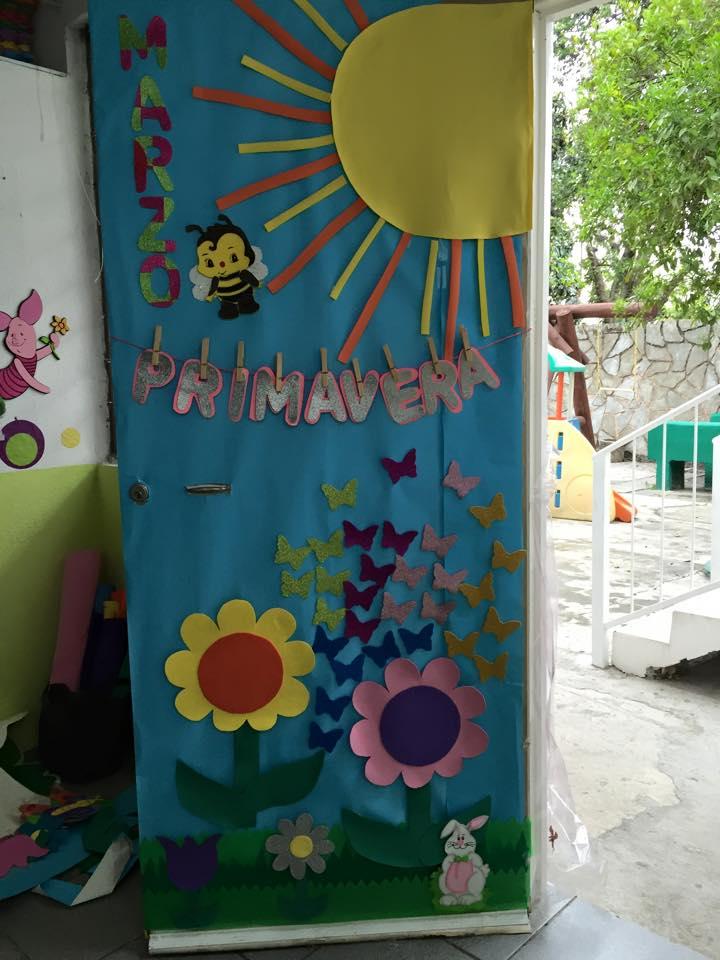 Puertas primavera 4 imagenes educativas for Decoracion puerta aula infantil