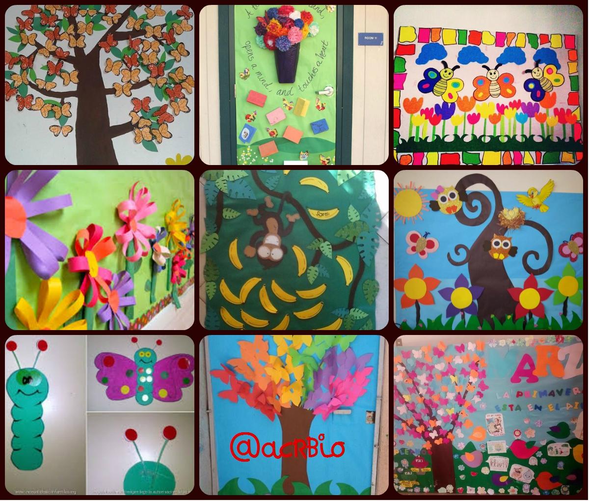 Collage decoraci n primavera portada 2 imagenes educativas for Grado medio jardin de infancia