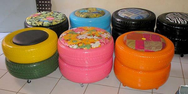 Reciclado de llantas muebles 03 imagenes educativas for Se vende muebles usados