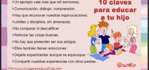 10 claves para educar a tu hijo Portada