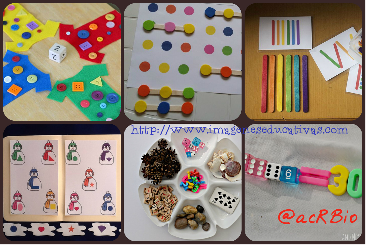 Actividades Matem 225 Ticas Collage 2 Imagenes Educativas