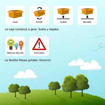 Cuentos con pictogramas #TEA ACNEAE LAS PELUSAS SE MUDAN DE CASA 18