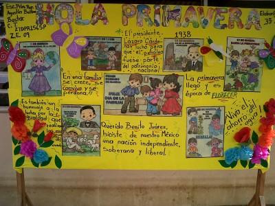 Nuevas ideas para el peri dico mural del mes de abril for Como elaborar un periodico mural escolar