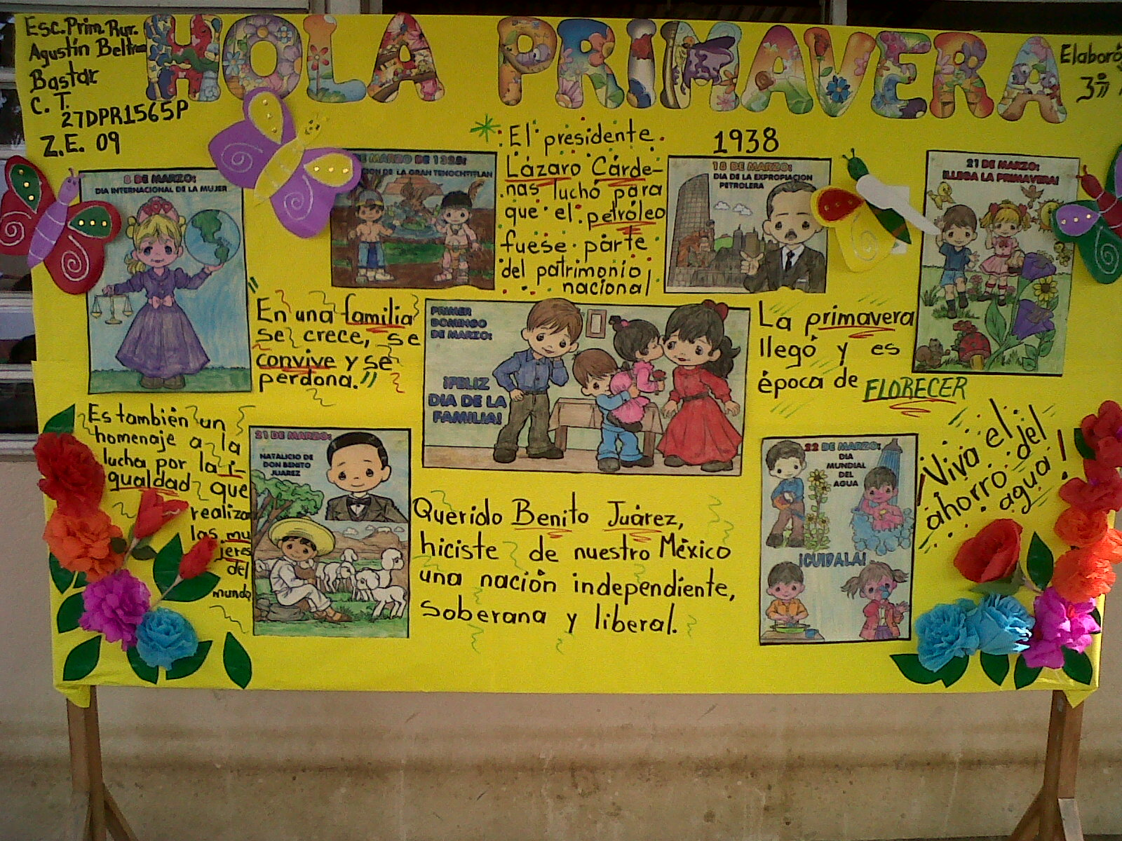 Periodico mural mes de abril 11 imagenes educativas for El mural pelicula descargar