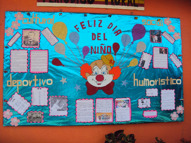 Periodico mural mes de abril 9 imagenes educativas for Como elaborar un periodico mural