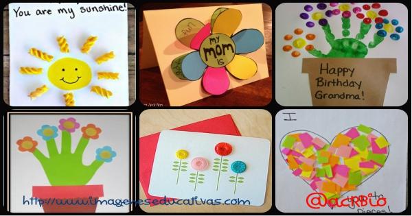 colección de Tarjetas de felicitación para el día de la madre
