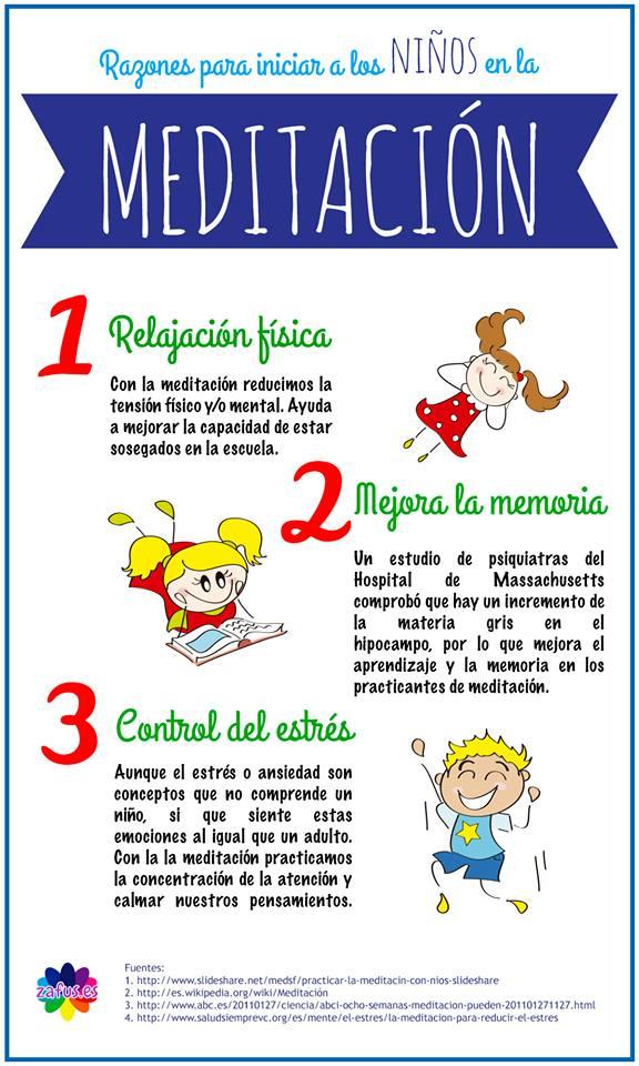 3 razones para iniciar a los ni os en la meditaci n - Hacer meditacion en casa ...