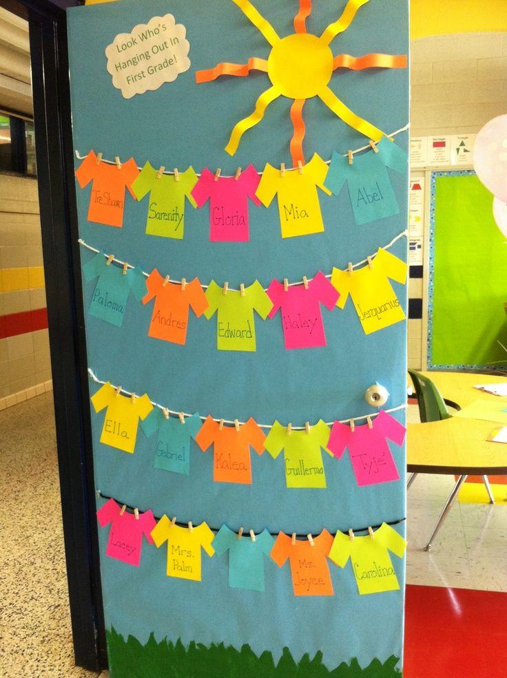 decoracion puertas clase 17 imagenes educativas