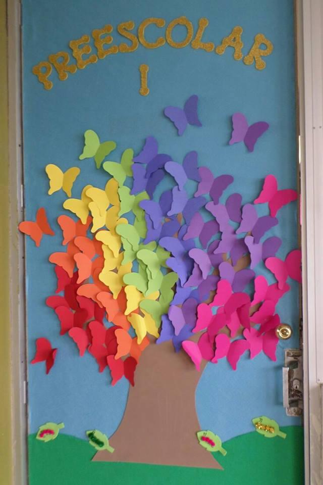 Decoracion puertas clase 28 imagenes educativas for Puertas decoradas para regreso a clases