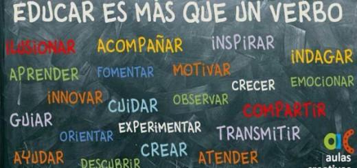 Educar es más que un verbo Portada