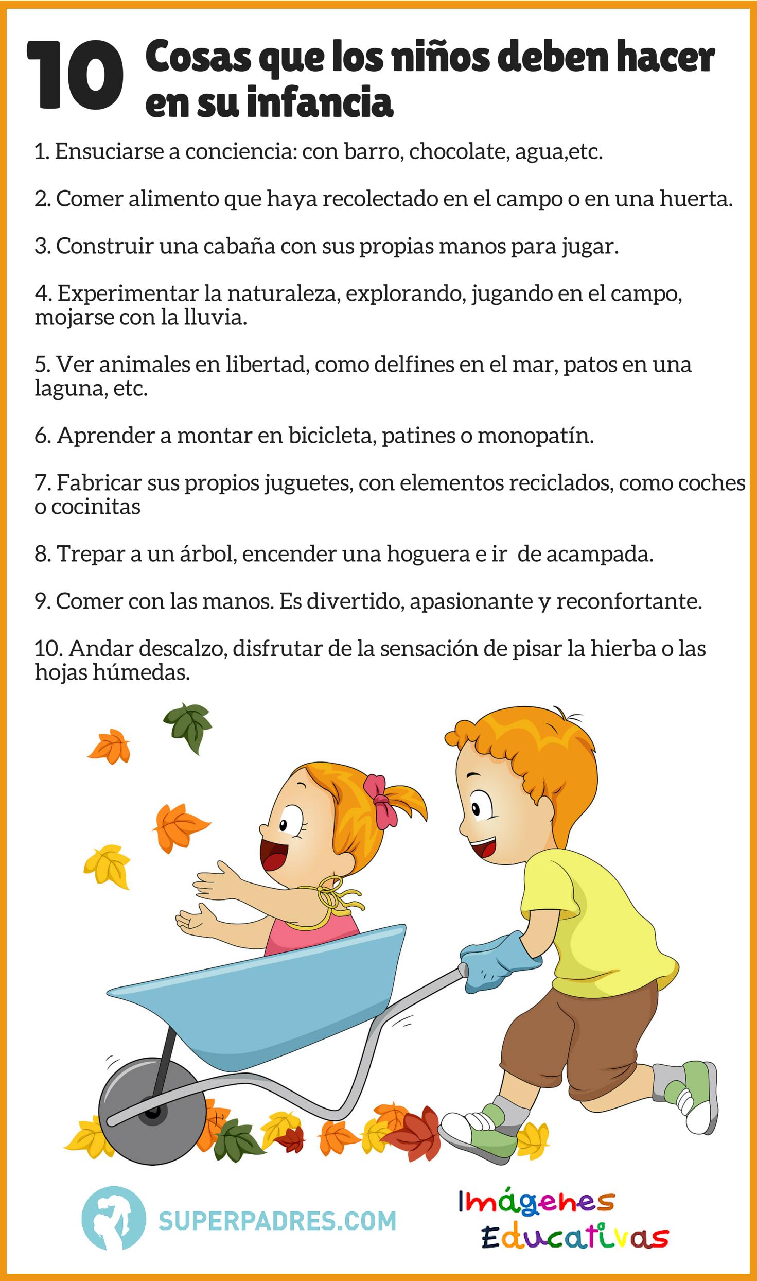 Infograf a cosas que los ni os imagenes educativas - Que hacer en tenerife con ninos ...