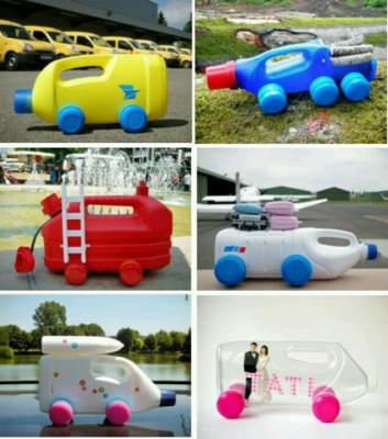 Nuevos juguetes reciclados para la playa y el jard n for Juguetes de jardin