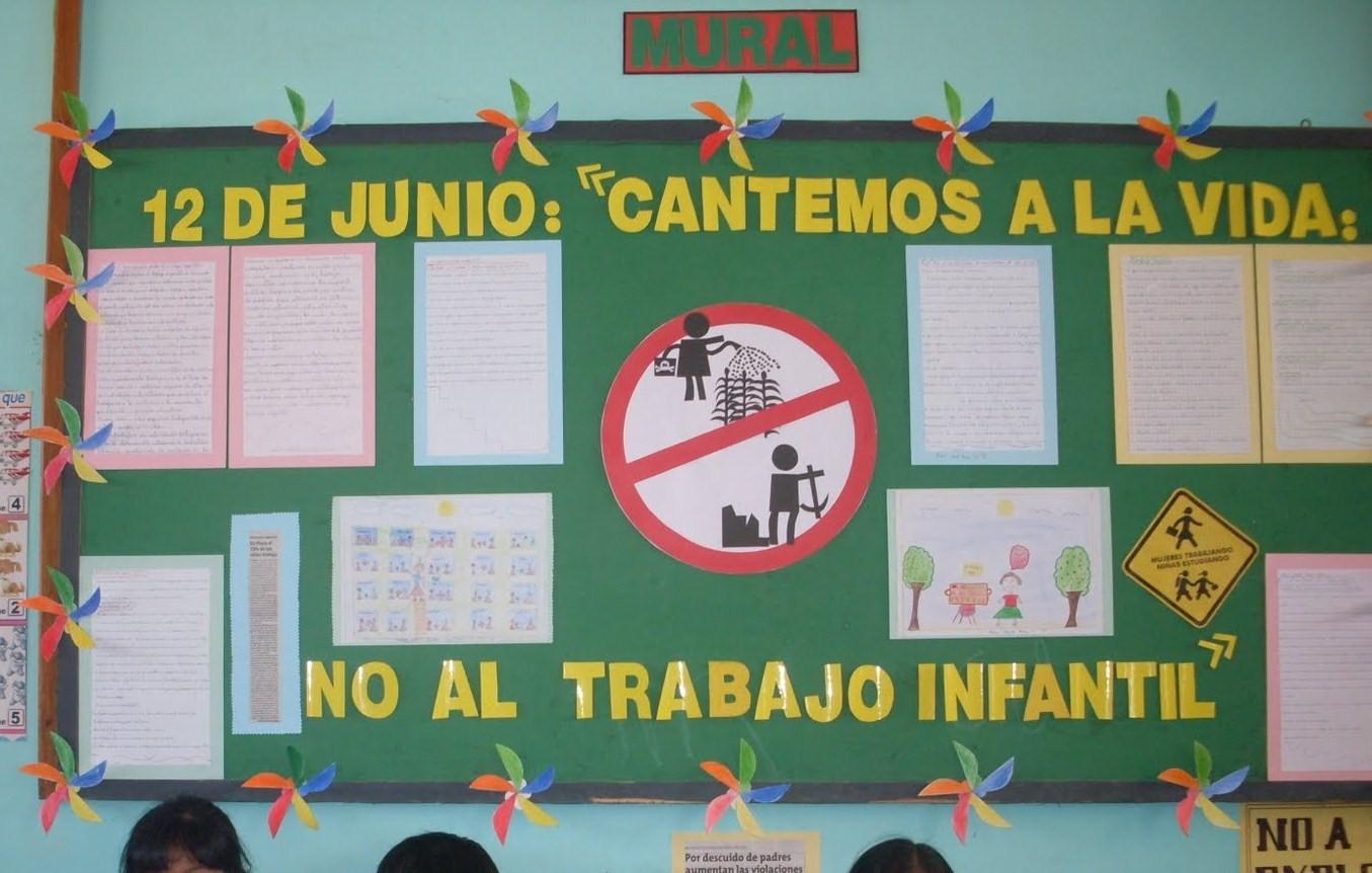 Peri dico mural de junio imagenes educativas for Cuales son las partes de un periodico mural