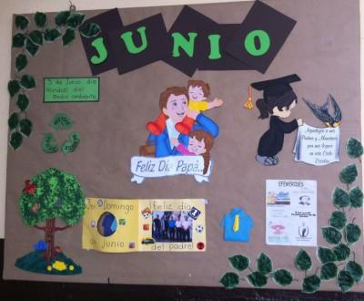 Magnificas ideas para el peri dico mural de junio mes del for Diario mural en ingles
