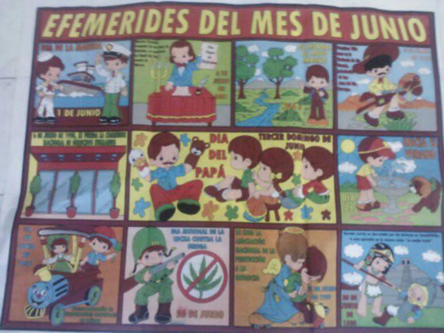 Peri dico mural de junio 4 imagenes educativas for Ejemplo de una editorial de un periodico mural