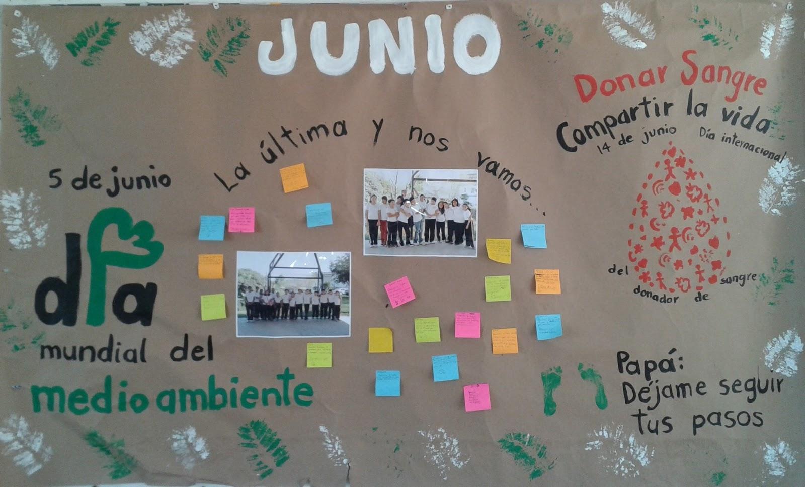 PERIÓDICO MURAL de Junio (5) - Imagenes Educativas