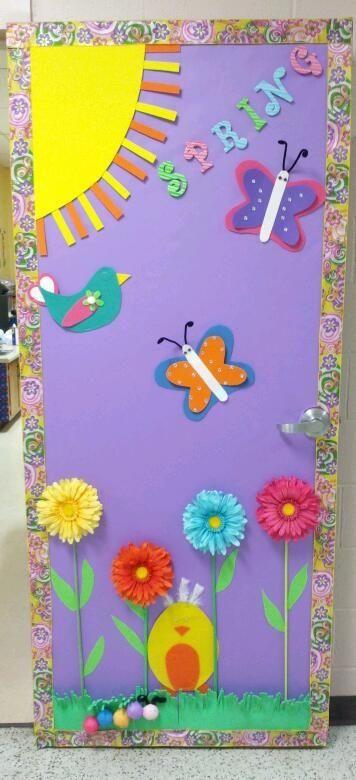 Salon De Clases Decorado De Primavera ~ Puertas decoraci?n Clase (5)  Imagenes Educativas