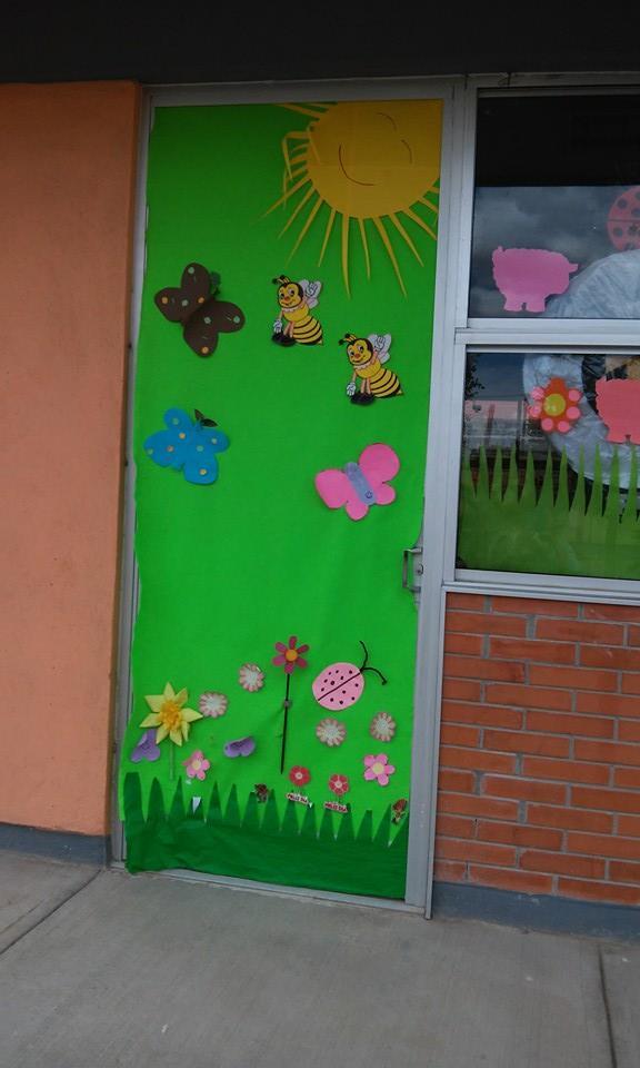 Puertas primavera 8 imagenes educativas for Ideas para decorar puertas de salon