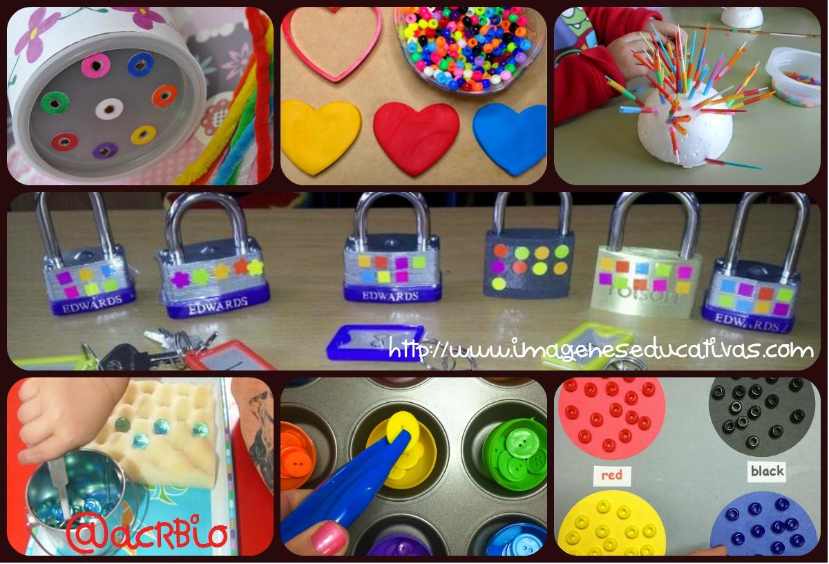 Juegos y actividades para estimular y trabajar la for Actividades para jardin infantil
