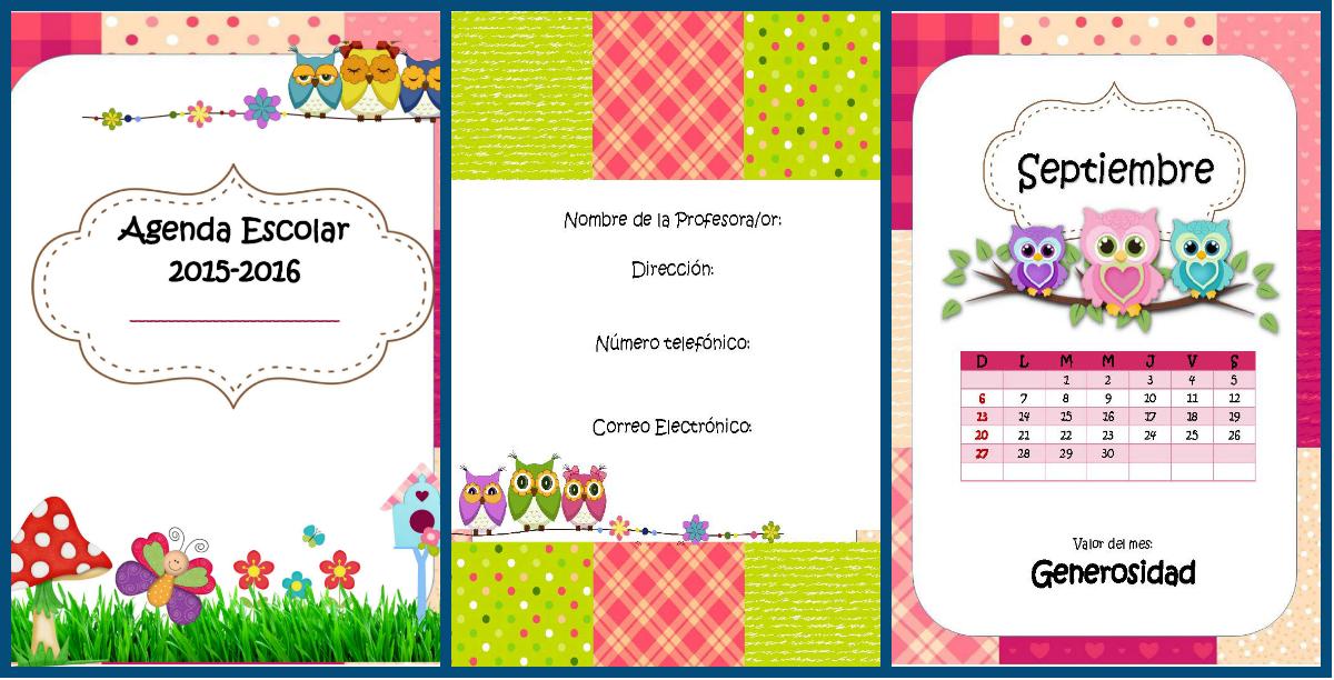 Nueva agenda curso 2015 2016 motivos tartanes escoceses formatos editables incluimos versi n - Horario oficina correos madrid ...