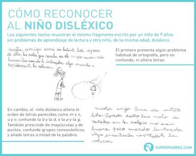 Cómo reconocer al niño disléxico