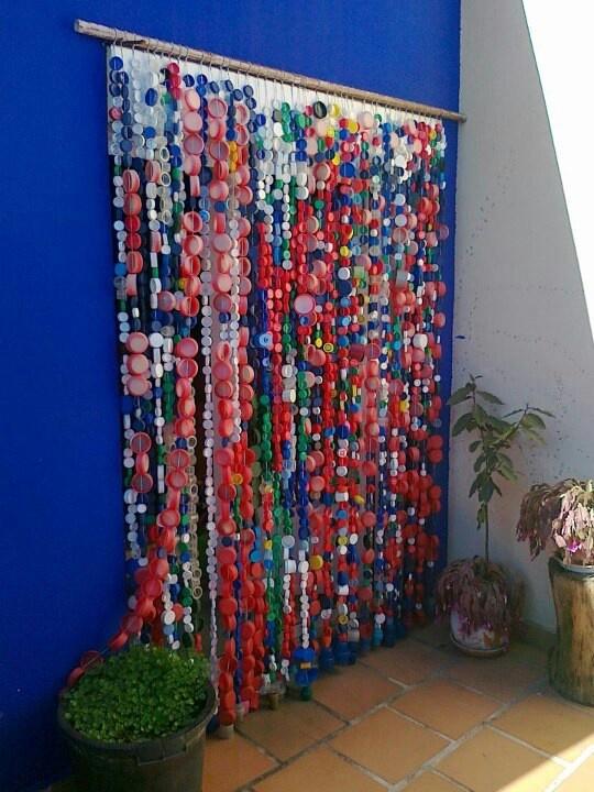 cortinas para puertas interiores y exteriores con tapones