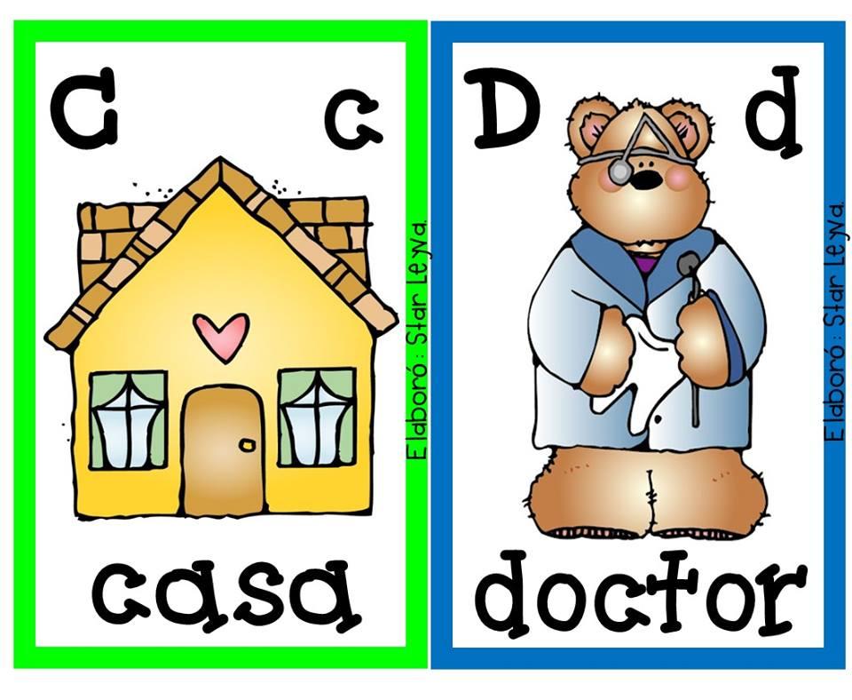 Imagenes Educativas Para Descargar: Magnifico Abecedario Descargar E Imprimir (2)