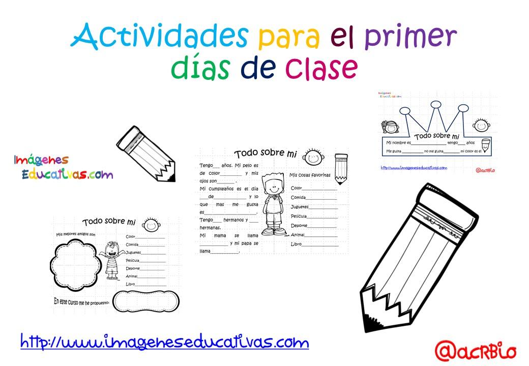Actividades para los primeros d as de clase 1 imagenes for Actividades divertidas para el salon de clases
